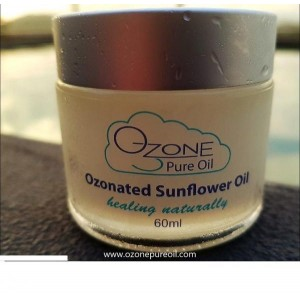 Ozonated Organic Sunflower Oil
